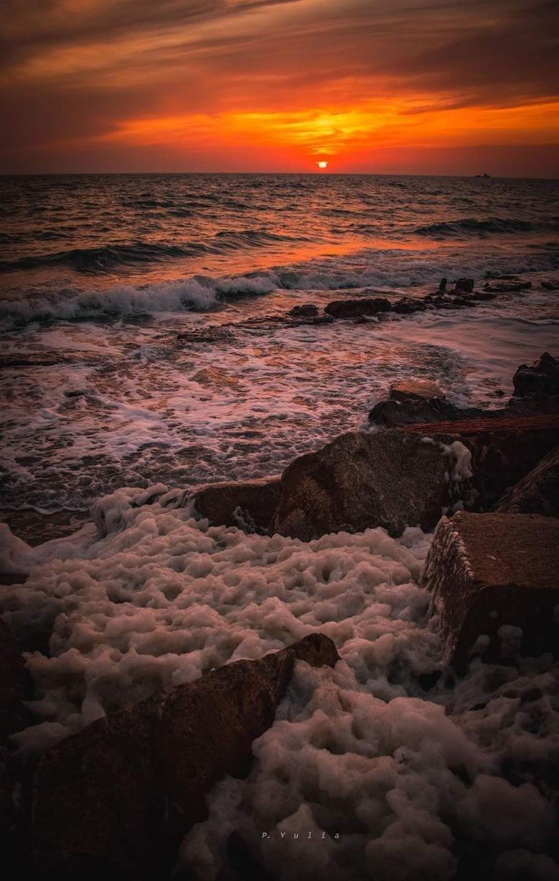 Неймовірний захід сонця у Бердянську, фото-6