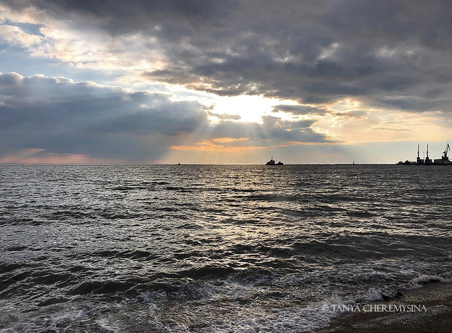 Вечірнє море від Тетяни Черемисіної