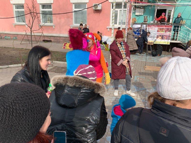 Масляна в Бердянську