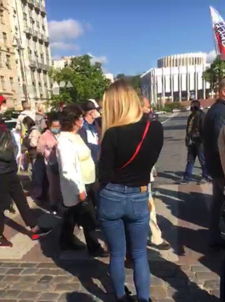 Предприниматели митингуют под стенами Кабмина против последствий карантина, фото-2