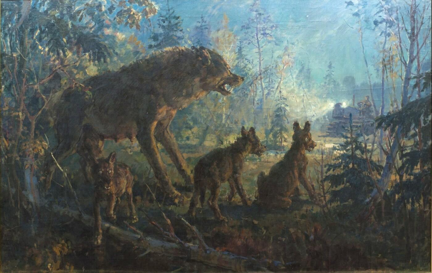 """"""" Сім'я кроликів"""", 1921."""