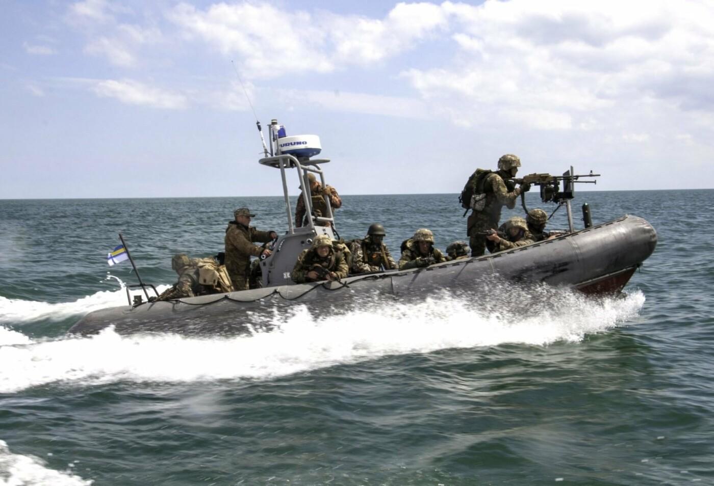 На берегу Азовського моря морпіхи проходили навчання, фото-1