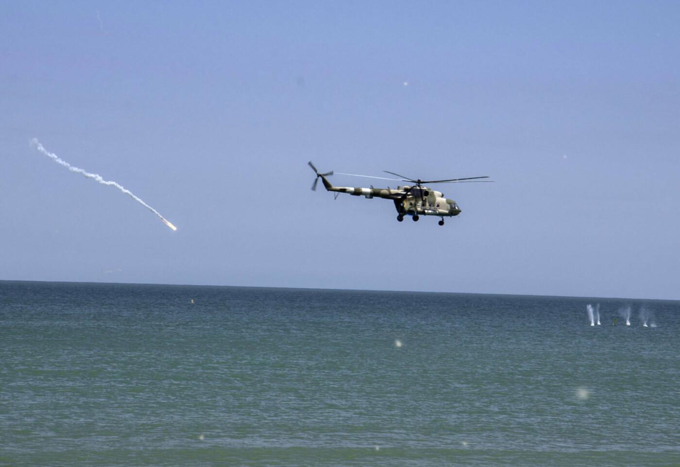 На берегу Азовського моря морпіхи проходили навчання, фото-10