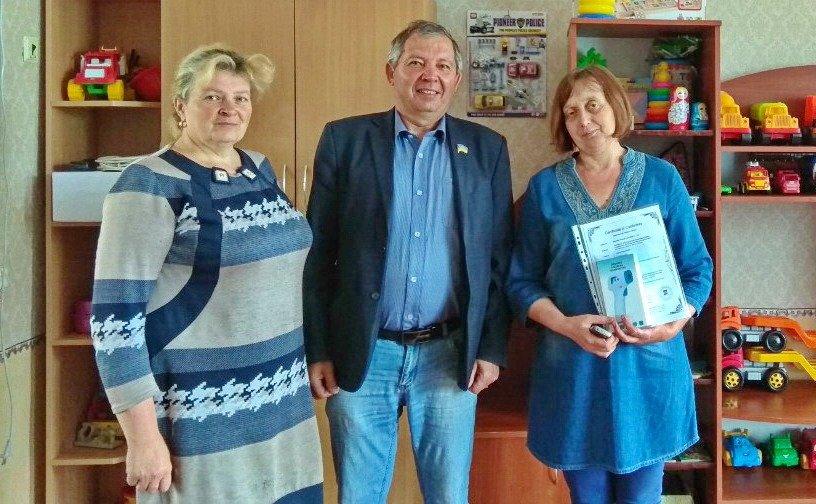 Дитячі садки Бердянського округу отримали безконтактні термометри, фото-1