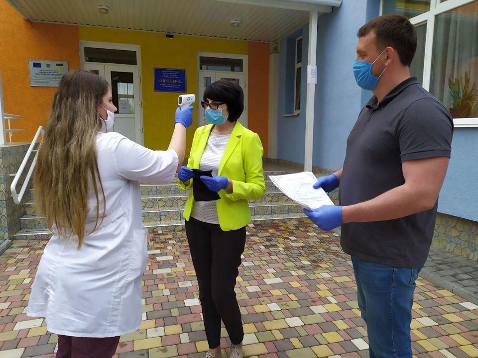 Дитячі садки Бердянського округу отримали безконтактні термометри, фото-2