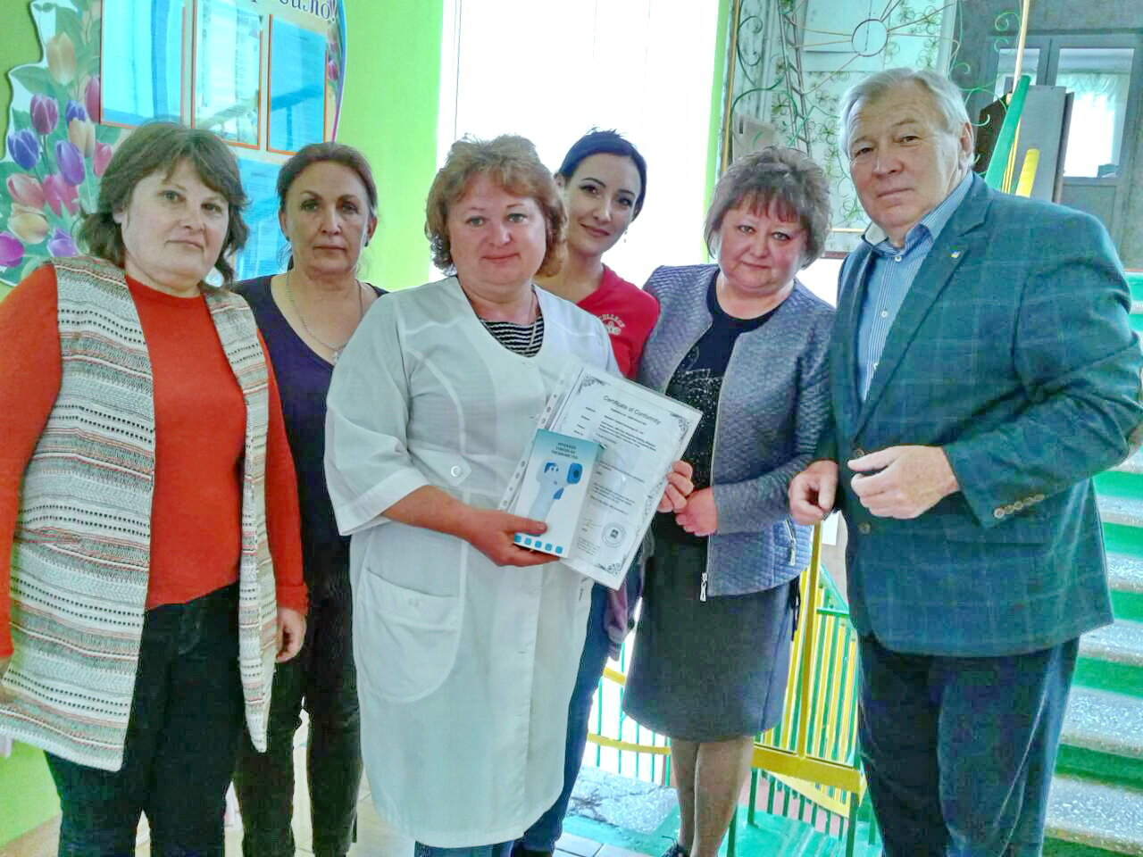 Дитячі садки Бердянського округу отримали безконтактні термометри, фото-3
