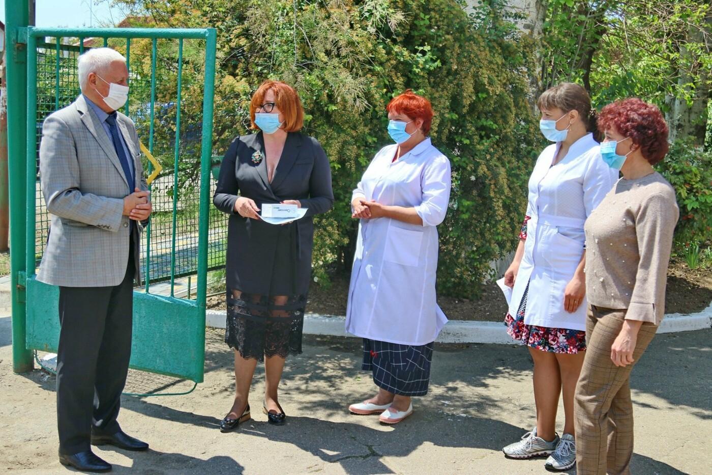 Дитячі садки Бердянського округу отримали безконтактні термометри, фото-4