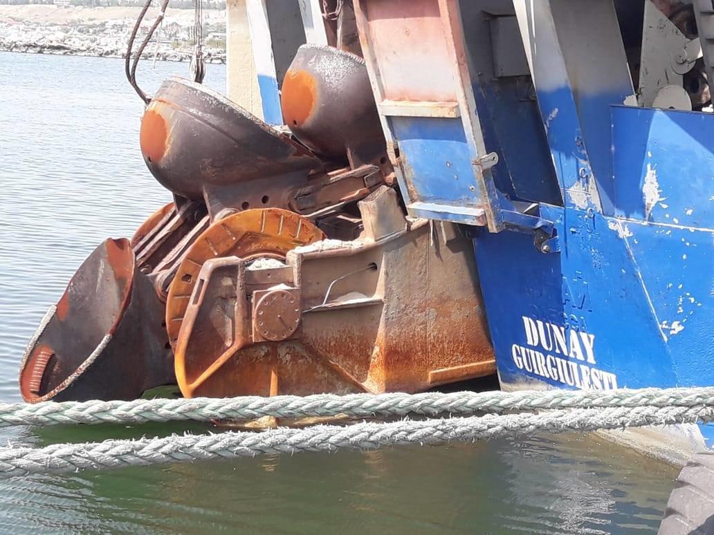 У Бердянському порту вперше за 4 роки відновили прохідну осадку 7,90 м, фото-1