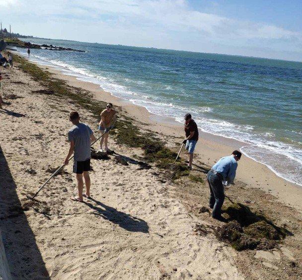 Бердянський «Екозахист Азов» прибрали пляжі Пісок, фото-2