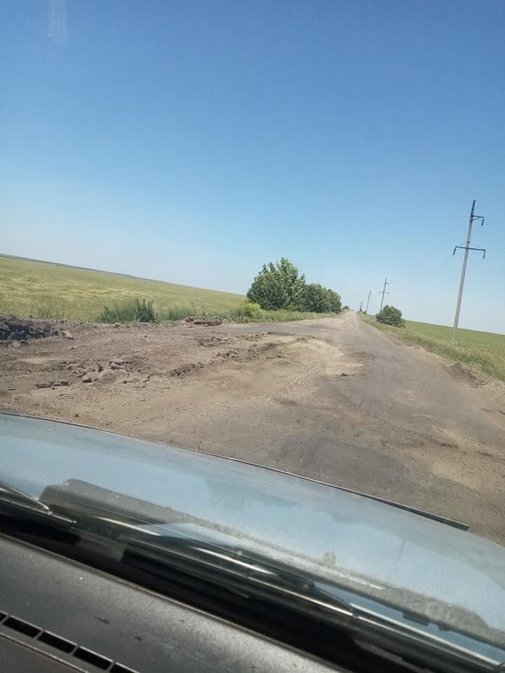 Бердянці жаліються на стан дороги Запоріжжя-Бердянськ, - ФОТО, фото-1