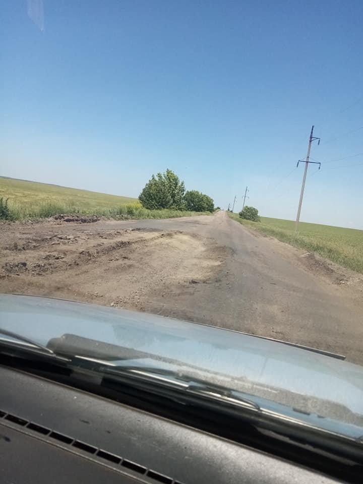 Бердянці жаліються на стан дороги Запоріжжя-Бердянськ, - ФОТО, фото-3