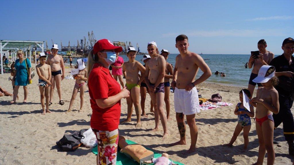 Отдыхающим Бердянска рассказали правила безопасности на воде , фото-5