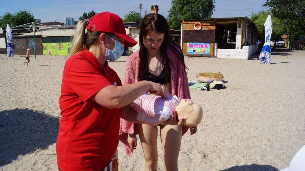 Отдыхающим Бердянска рассказали правила безопасности на воде , фото-7