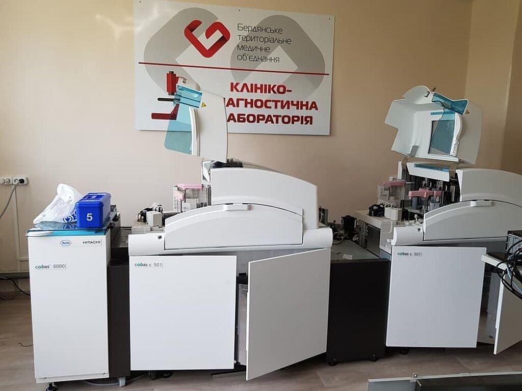 В Бердянском медицинском объединении заканчивается реконструкция терапевтического корпуса, фото-4