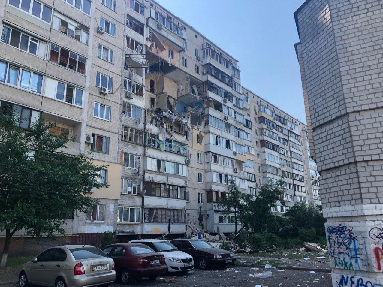 В Киеве взрыв в жилом доме забрал жизни уже троих жителей, фото-1