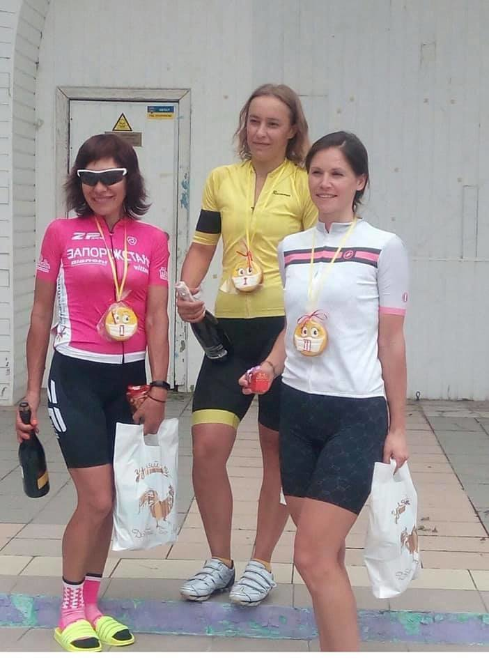 Бердянка Анна Неженцева победила в областном чемпионате по велоспорту, фото-2