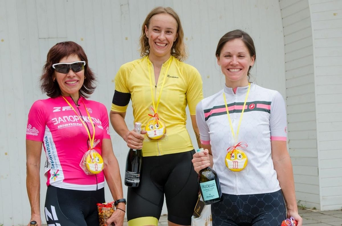 Бердянка Анна Неженцева победила в областном чемпионате по велоспорту, фото-1