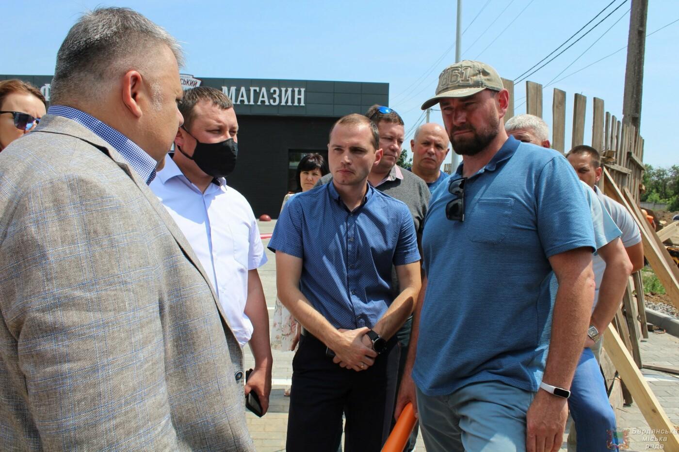 Глава Запорожской ОГА посетил Бердянск, фото-1