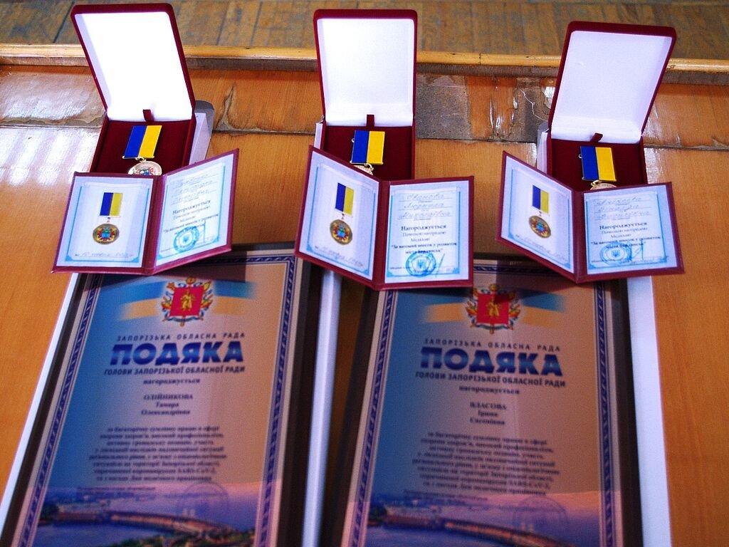 Бердянские медики получили почетные награды от главы ОГА, фото-1