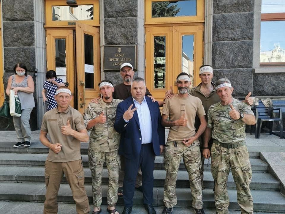 Глава Запорожской ОГА встретился с «сарматовцами» в Киеве, фото-1