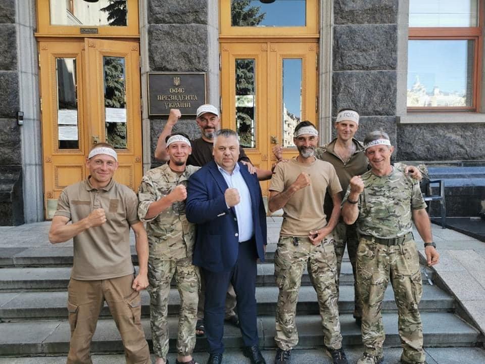 Глава Запорожской ОГА встретился с «сарматовцами» в Киеве, фото-2