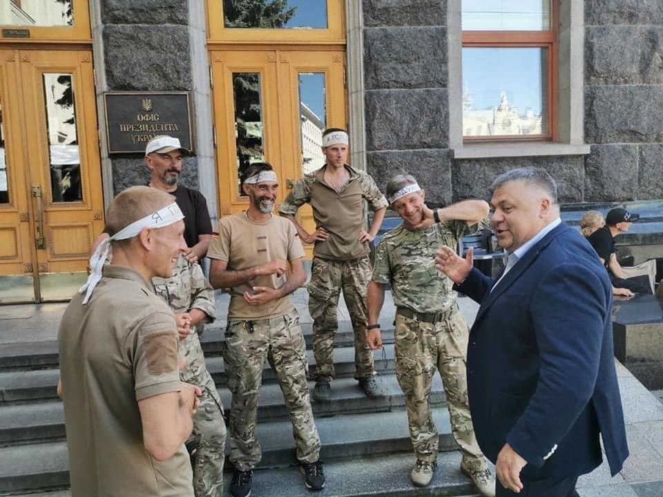 Глава Запорожской ОГА встретился с «сарматовцами» в Киеве, фото-3