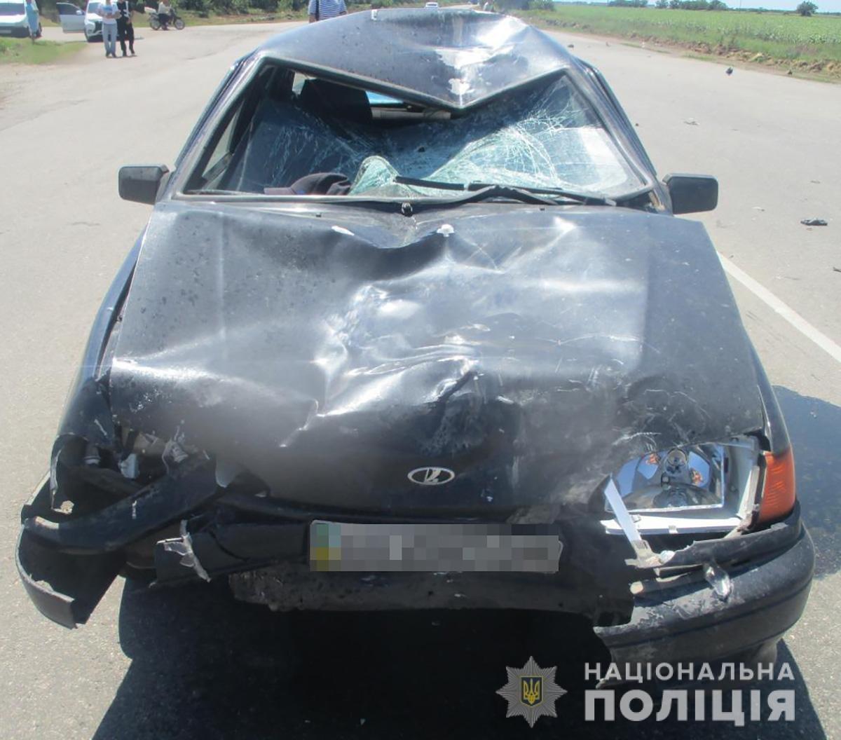 Мопедист в недавней аварии в Бердянске погиб на месте событий, фото-2
