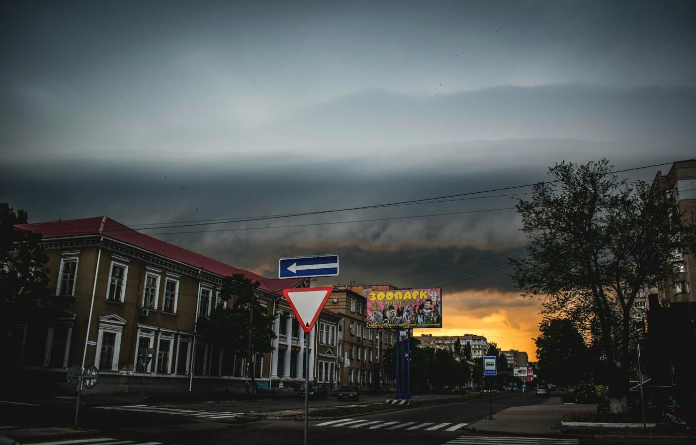 Дождливый вечер Бердянска, - ФОТО, фото-5