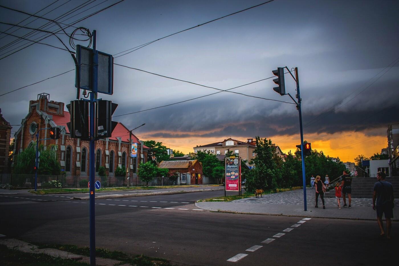 Дождливый вечер Бердянска, - ФОТО, фото-6