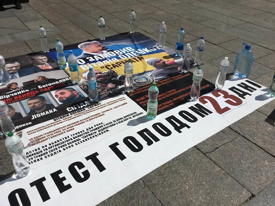 Один из «сарматовцев» потерял сознание на 23 день голодовки, фото-8
