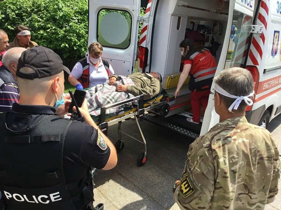 Один из «сарматовцев» потерял сознание на 23 день голодовки, фото-4
