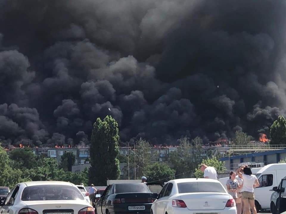 Пожар в Новой Каховке: назвали причины возгорания 5-этажки, фото-1
