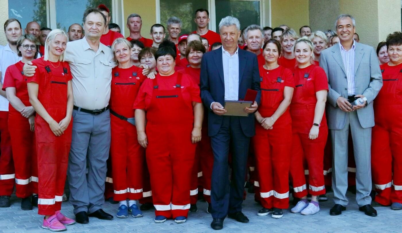 Народные депутаты посетили Бердянское предприятие AZMOL-BP, фото-1