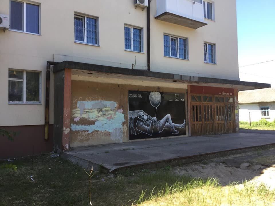 Новая работа стрит-арт художника украсила улицы Бердянска, фото-2