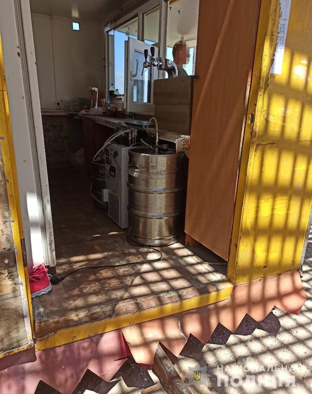 В Бердянске зафиксировали незаконную продажу алкоголя, фото-1