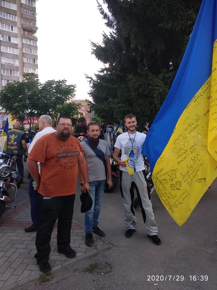 Мотопробег Единства Украины скоро приедет в Бердянск