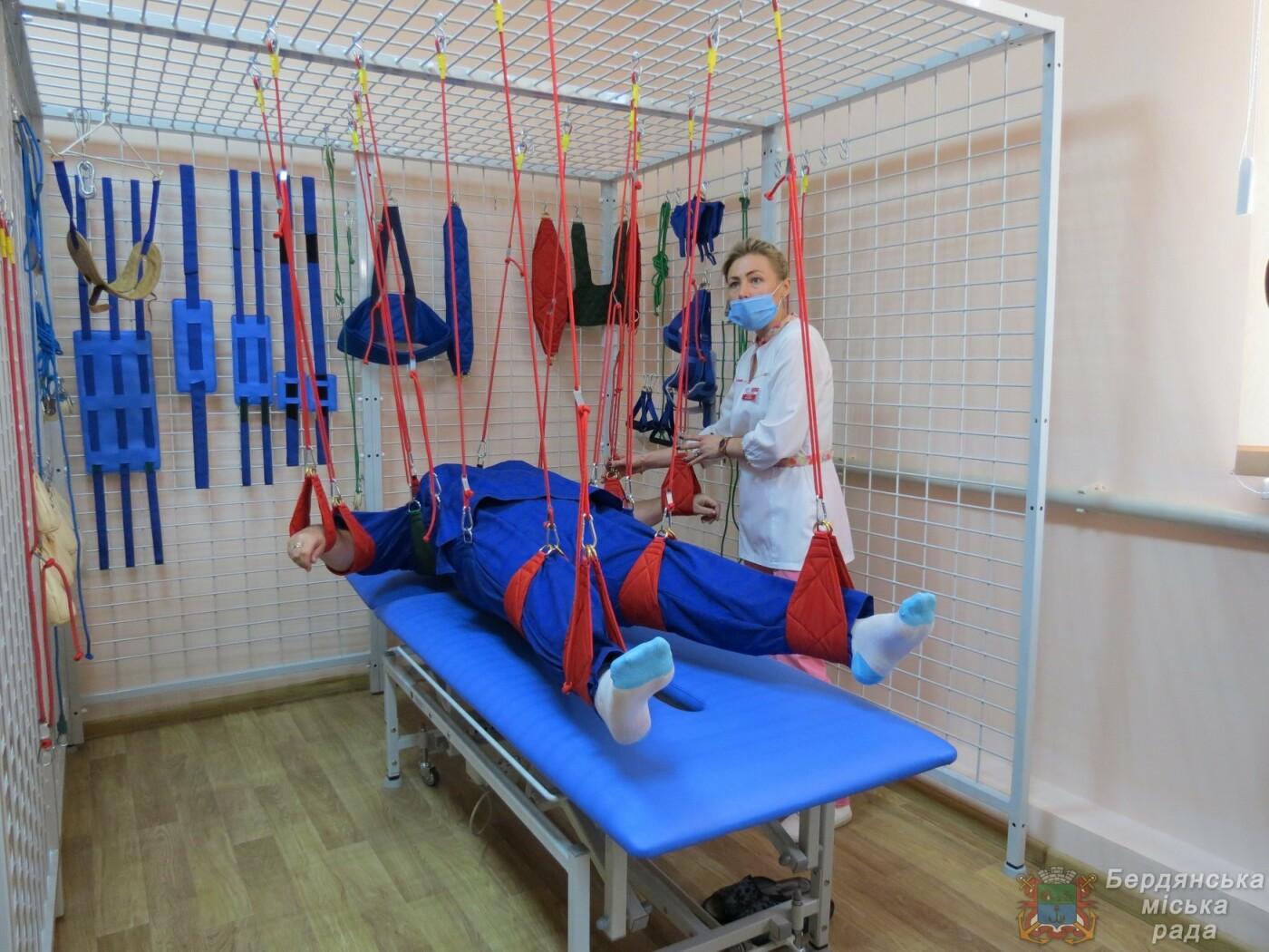 В Бердянске открыли Реабилитационное отделение , фото-2