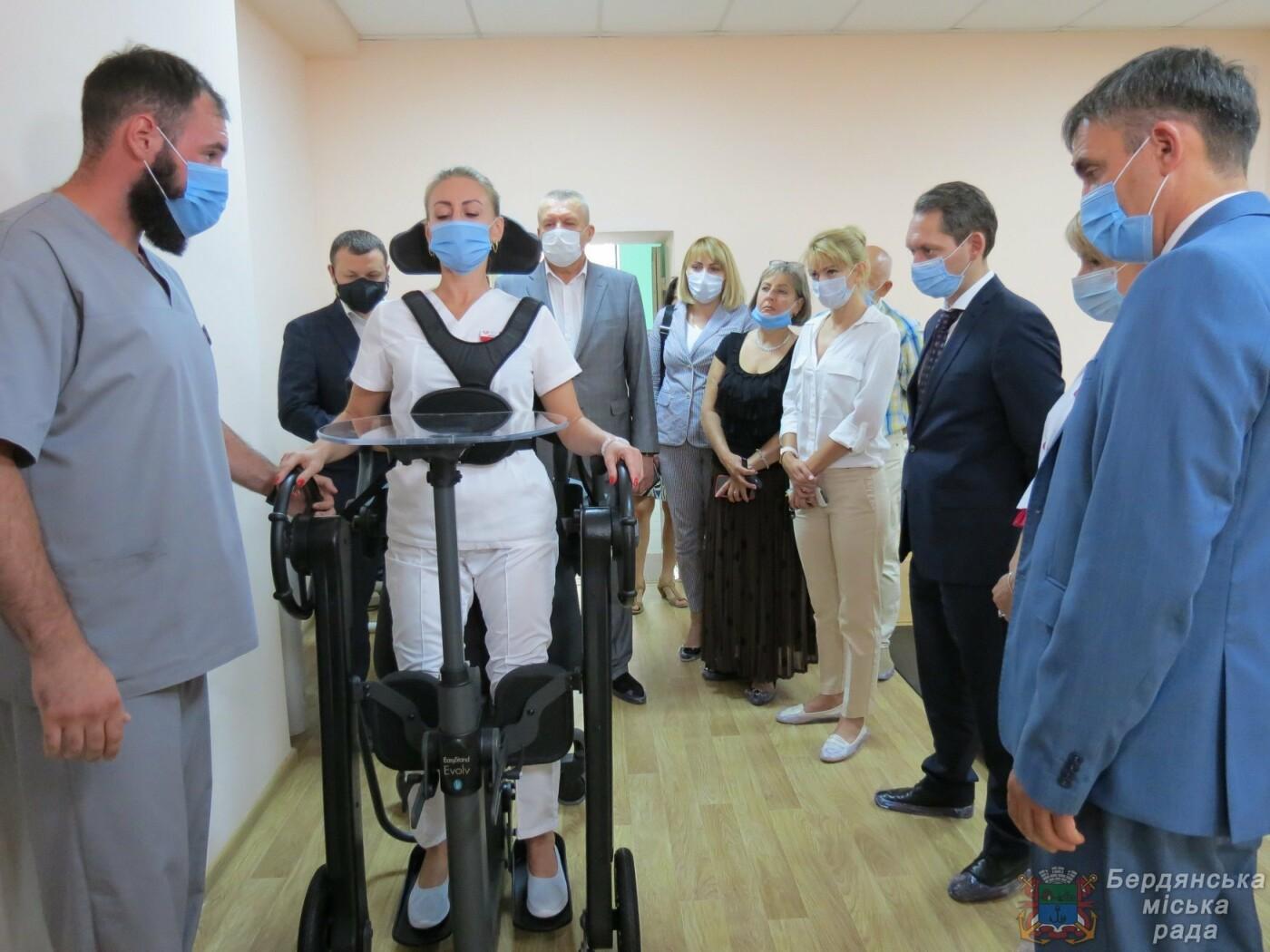 В Бердянске открыли Реабилитационное отделение , фото-5
