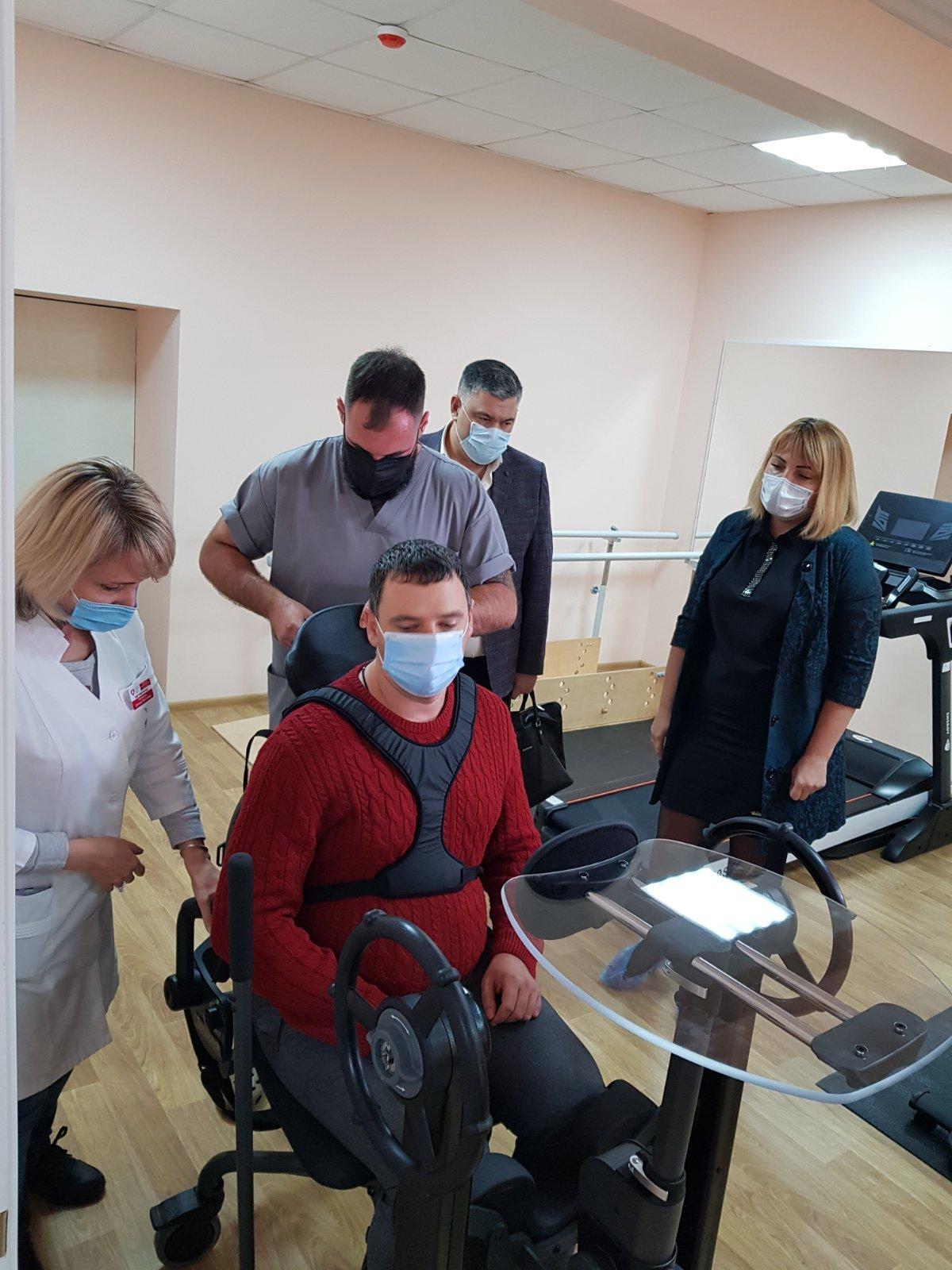 Бердянский центр реабилитации передает опыт коллегам из Энергодара, фото-2