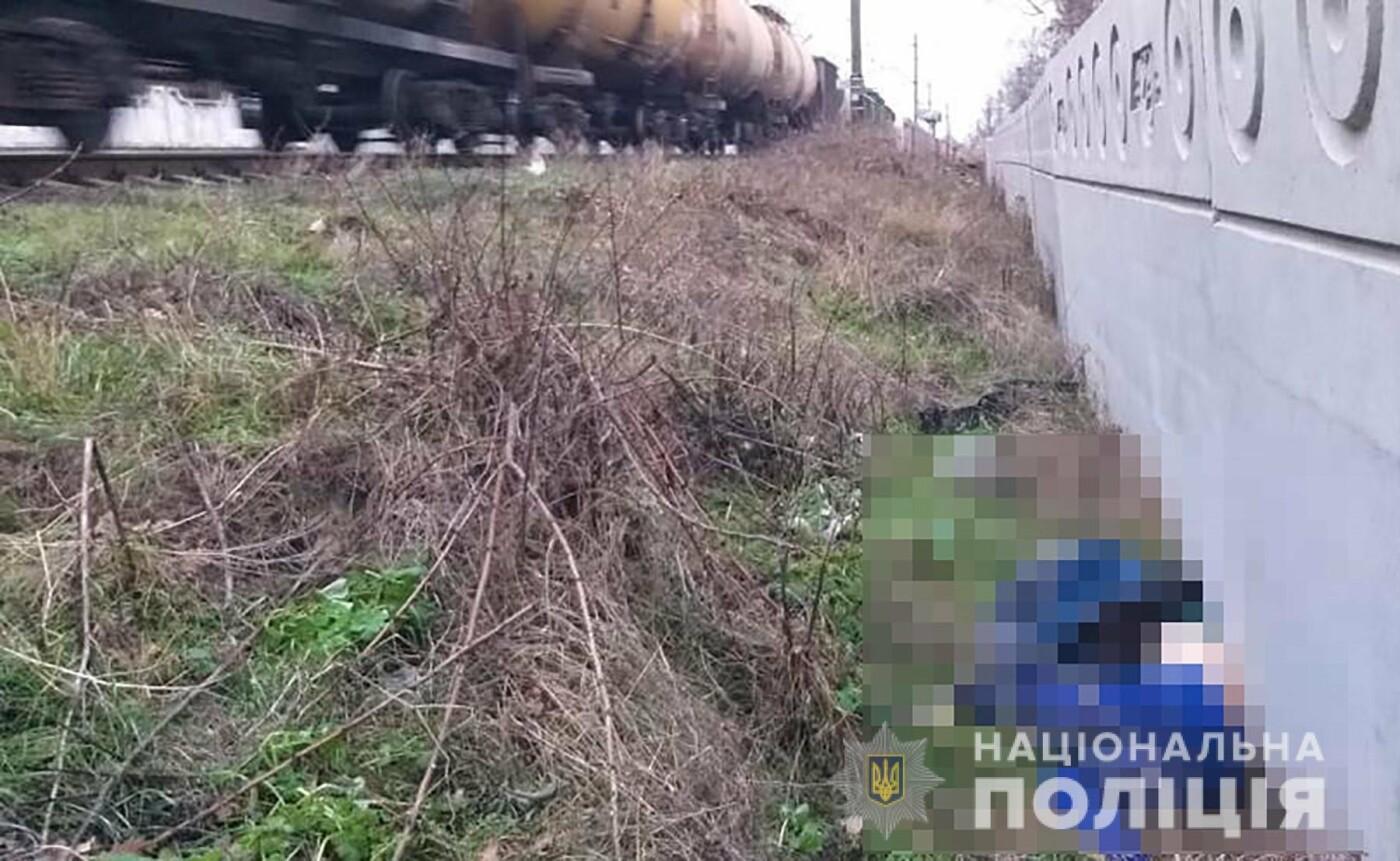 В Запорожье поезд Интерсити сбил мужчину, фото-1