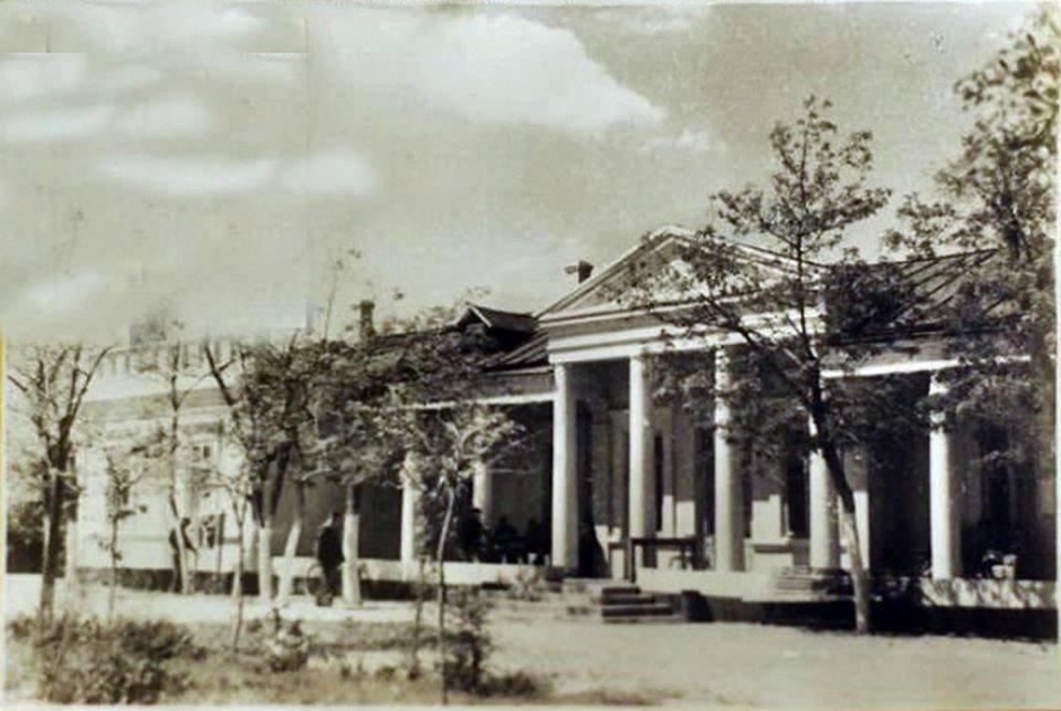 Фото Бердянского Курорта , примерно 1940-х годов.