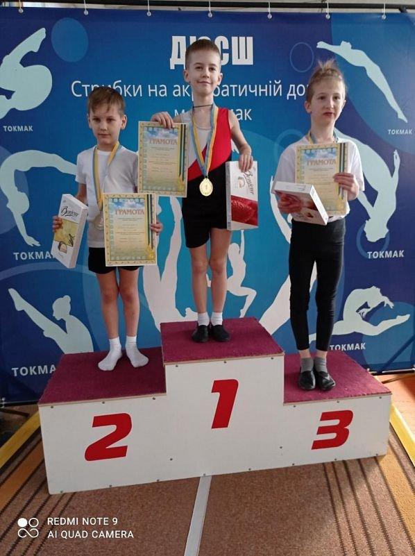 Бердянские акробаты показали отличные результаты в Токмаке, фото-5