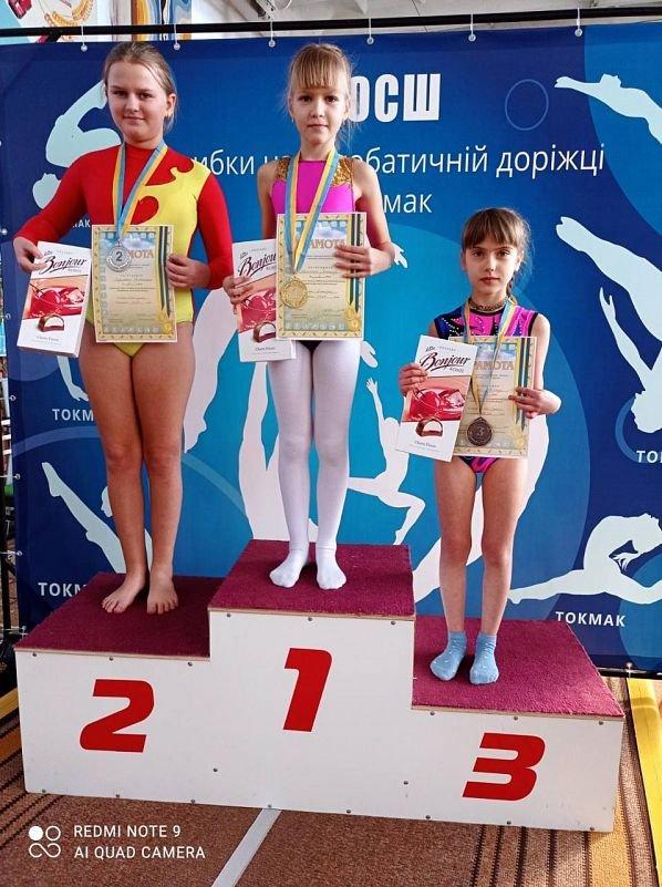 Бердянские акробаты показали отличные результаты в Токмаке, фото-4