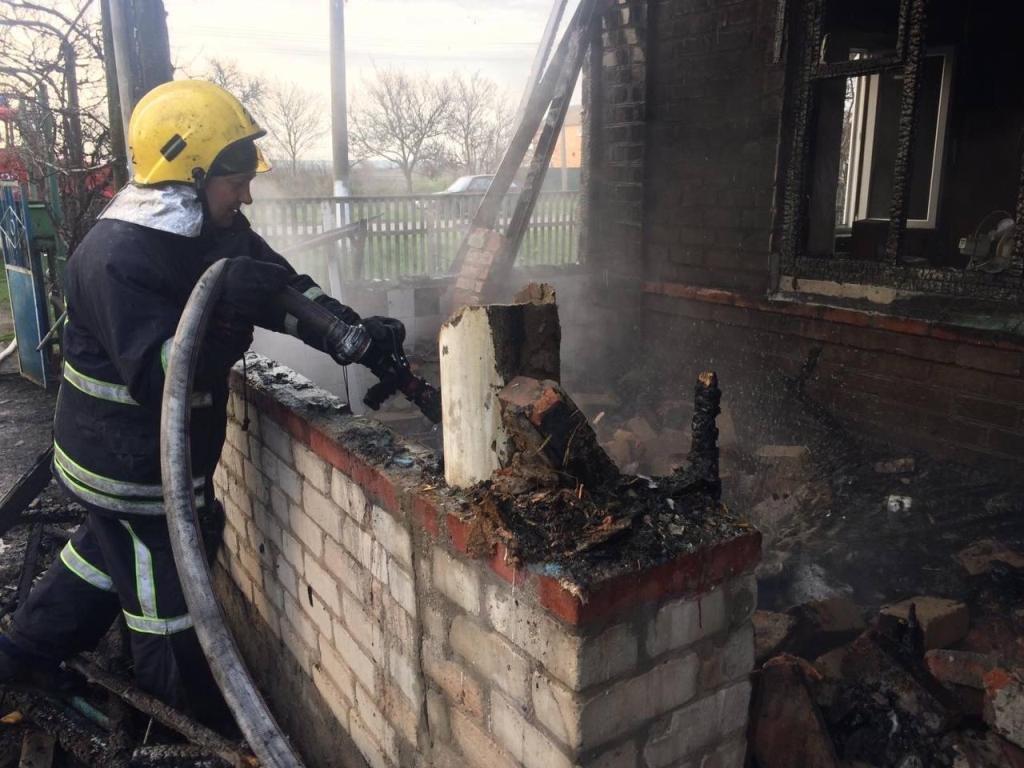 В Приморске спасатели ликвидировали пожар в частном доме, фото-5