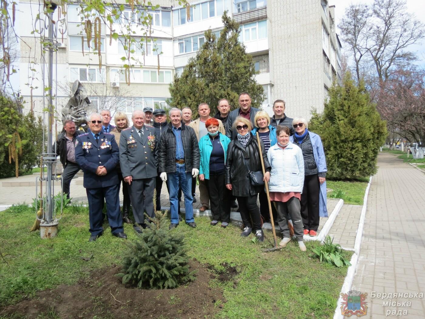 В Бердянске продолжаются субботники (ФОТО), фото-3