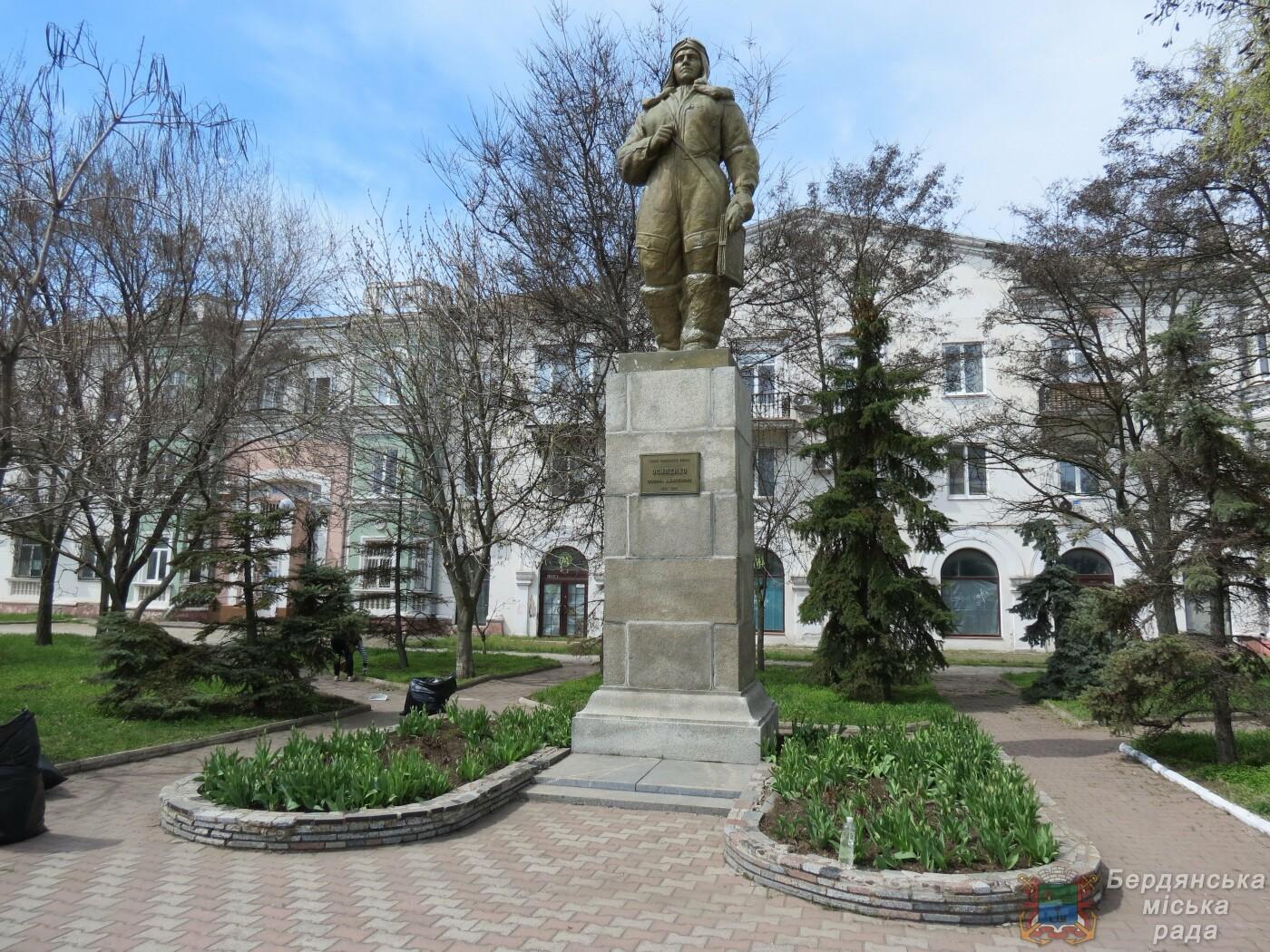 В Бердянске продолжаются субботники (ФОТО), фото-8