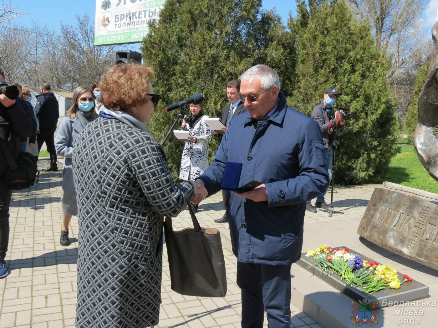 В Бердянске прошел митинг к 35-й годовщины аварии на Чернобыльской атомной электростанции, фото-6