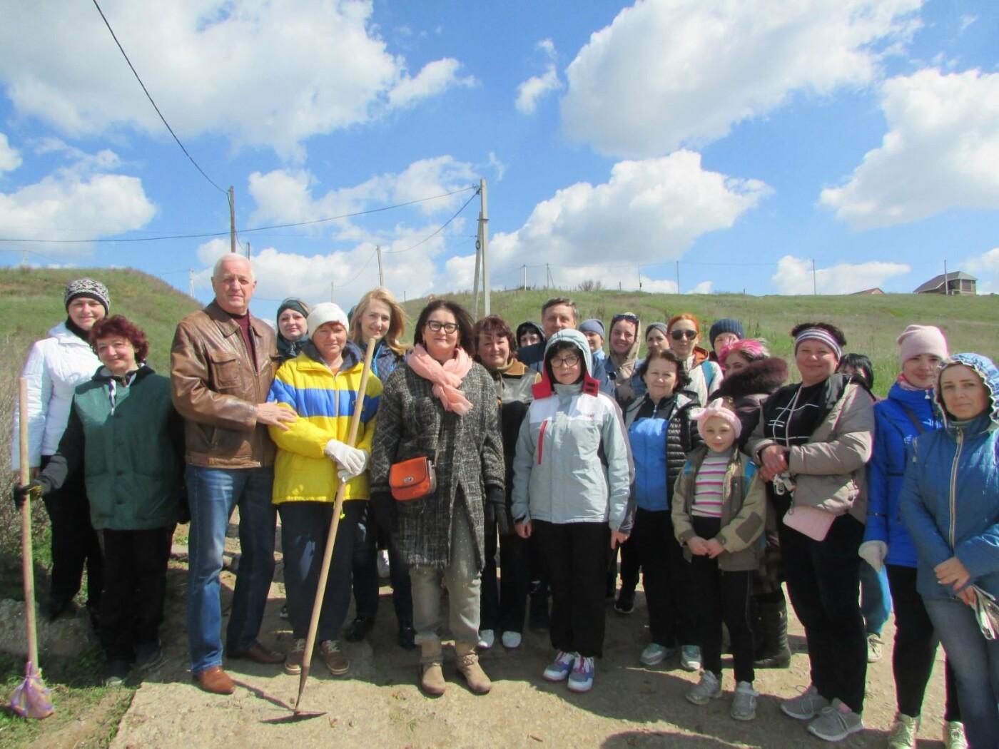 Субботники в Бердянске : фоторепортаж, фото-12