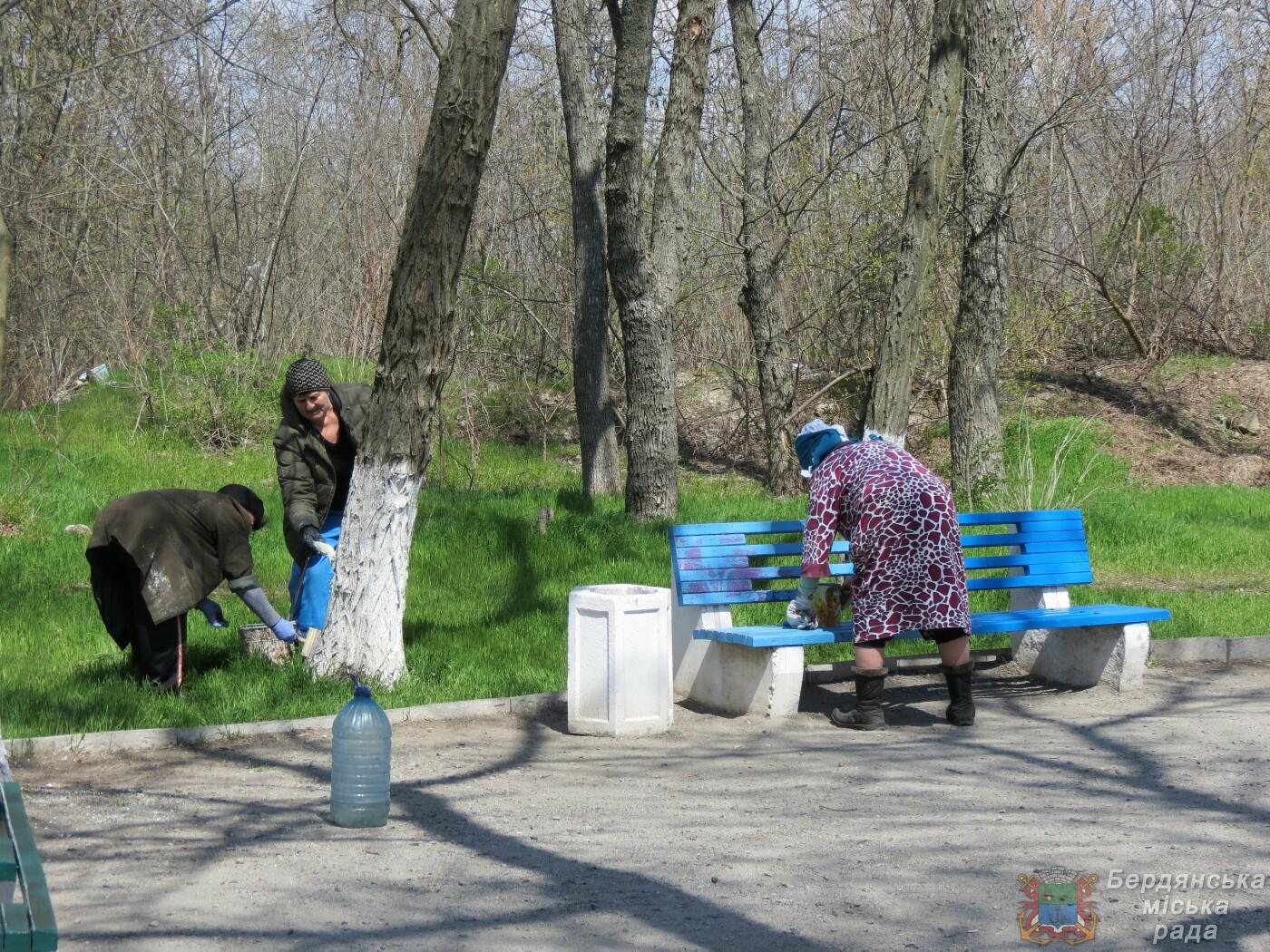 Субботники в Бердянске : фоторепортаж, фото-20