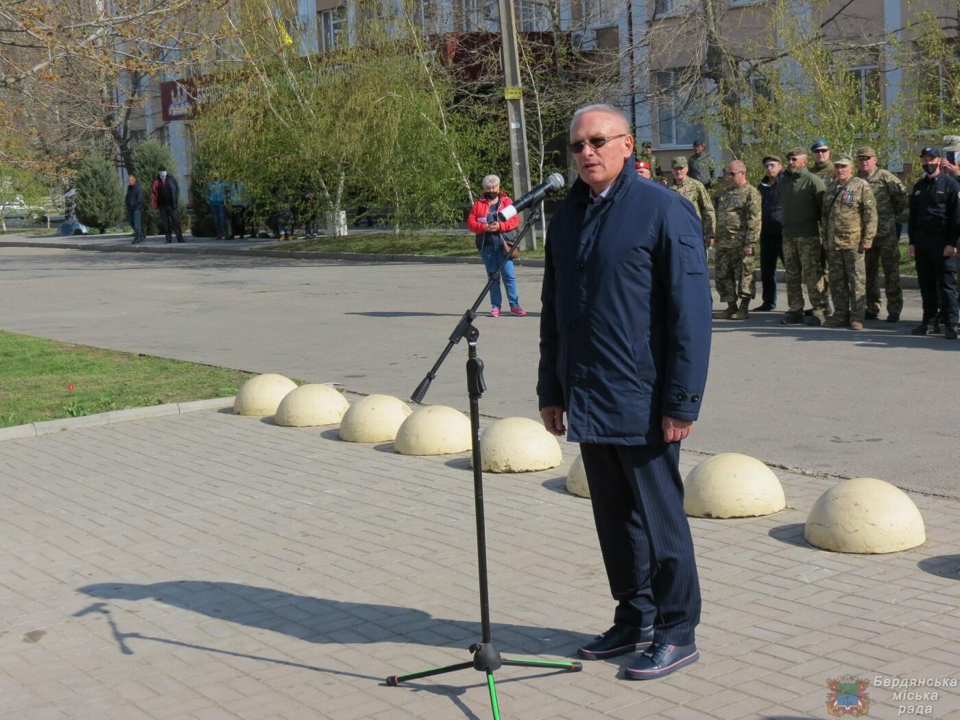 В Бердянске состоялось торжественное поднятие флага Военно-Морских Сил Вооруженных Сил Украины, фото-8
